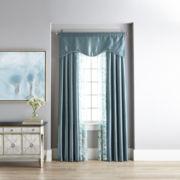 Liz Claiborne® Taffeta/Sabra Rod-Pocket Window Treatments