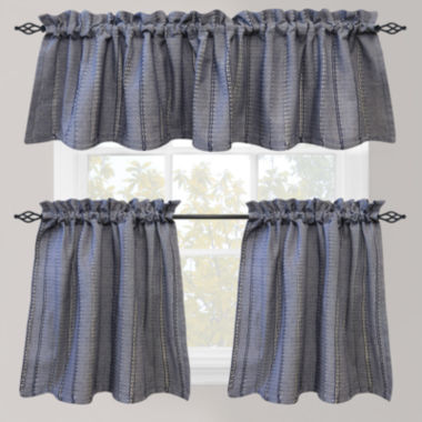 jcpenney.com | Park B. Smith Eyelet Chambray Rod-Pocket Kitchen Curtains