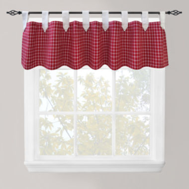 jcpenney.com | Park B. Smith® Picnic Check Tab-Top Valance