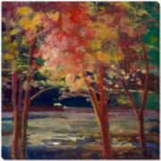Autumn Trees Canvas Wall Art