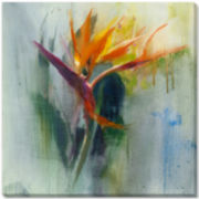 Bird of Paradise Canvas Wall Art