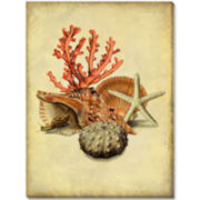 Under the Sea II Canvas Wall Art