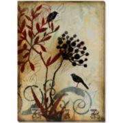Botanical Mist II Canvas Wall Art