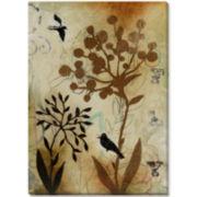 Botanical Mist III Canvas Wall Art