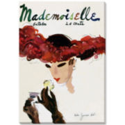 Mademoiselle II Canvas Wall Art