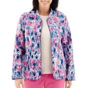 Alfred Dunner® Bon Voyage Quilted Print Jacket