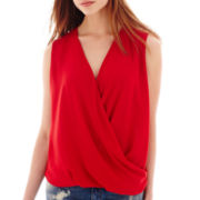 MNG by Mango® Sleeveless Drape Blouse