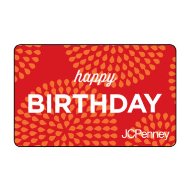 jcpenney.com | $200 Happy Birthday Sunburst Gift Card