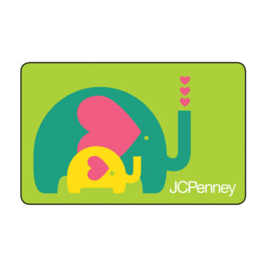 jcpenney.com | $50 Baby Elephant Gift Card