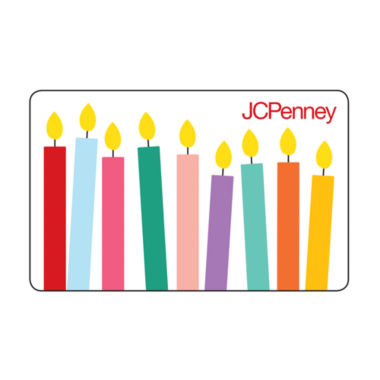 jcpenney.com | $50 Happy Birthday Candles Gift Card