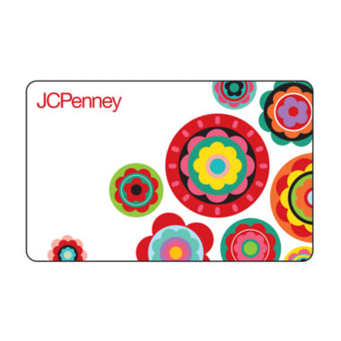 jcpenney.com | $250 Multi Flowers Gift Card