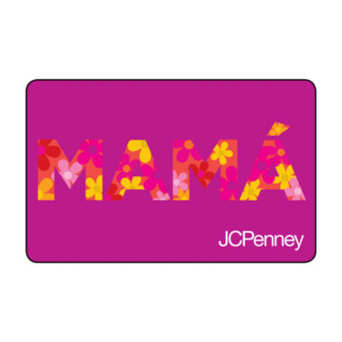 jcpenney.com | $25 Mama Gift Card