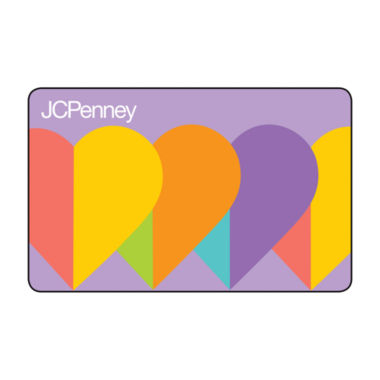 jcpenney.com | $25 Heart Mom Gift Card