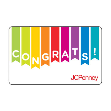 jcpenney.com | $25 Congrats Gift Card