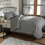Classic Check Percale Duvet Cover Set
