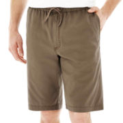 Lee® Pull-On Dungaree Shorts