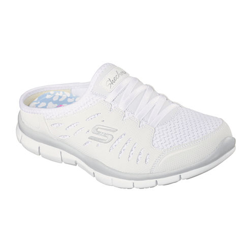 Skechers®Skechers® No Limits Slip-On Womens Mule Sneakers