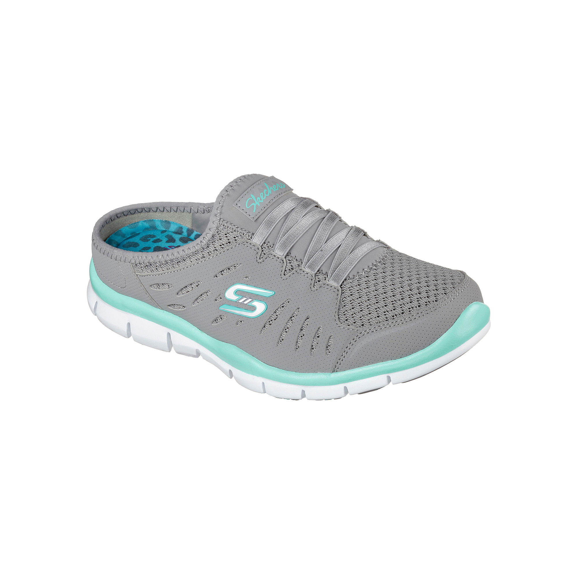 Skechers No Limits Slip-On Womens Mule Sneakers plus size,  plus size fashion plus size appare