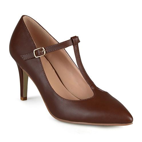 Journee Collection Dream T-Strap Pumps