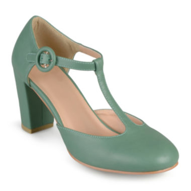 jcpenney.com | Journee Collection Talie T-Strap Pumps