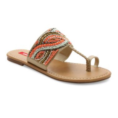 jcpenney.com | UNIONBAY® Jeweled Flat Sandals
