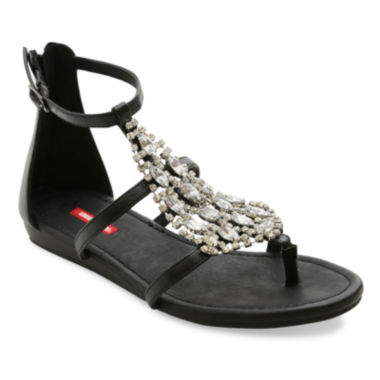jcpenney.com | UNIONBAY® Closed Zip-Back Flat Sandals