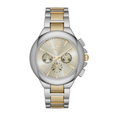 jcpenney.com | Geneva Womens Two-Tone Strap Watch