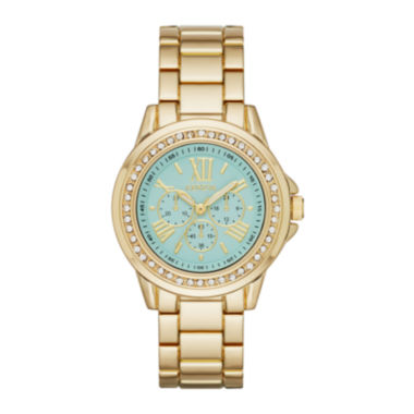jcpenney.com | Geneva Womens Mint Dial Gold-Tone Watch