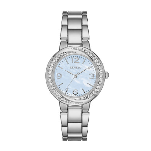 Geneva Womens Blue Twist Dial Watch