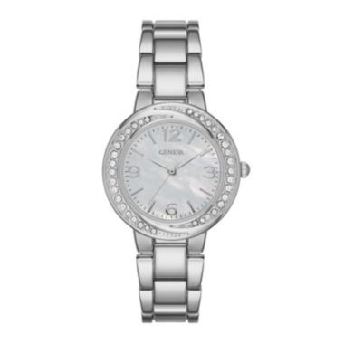jcpenney.com | Geneva Womens White Twist Dial Watch