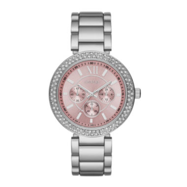 jcpenney.com | Geneva Womens Pink Dial Watch