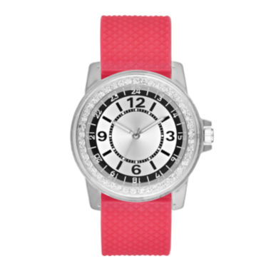 jcpenney.com | Womens Pink Strap Watch