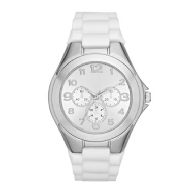 jcpenney.com | Womens White Strap Watch