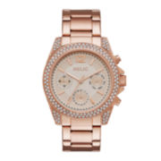 Relic® Womens Rose Gold-Tone Stainless Steel Bracelet Watch