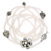 Messages from the Heart® by Sandra Magsamen® 7-pc. Stretch Bracelet Set