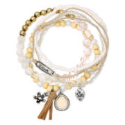 Messages from the Heart® by Sandra Magsamen® 5-pc. Stretch Bracelet Set