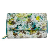 Mundi® Big Fat Soft Floral Print Wallet
