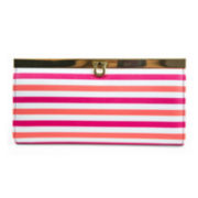 Mundi® Bay Harbor Multicolor Stripe Clutch Wallet