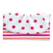 Mundi® La Jolla Ruched-Flap Clutch Wallet