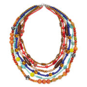 Aris by Treska Multi-Row Statement Necklace