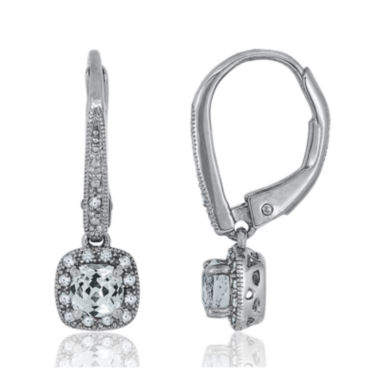 jcpenney.com | Diamond Accent & Lab-Created White Sapphire Sterling Silver Earrings