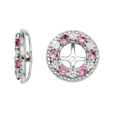 jcpenney.com | Lab-Created Pink Sapphire Sterling Silver Earring Jackets