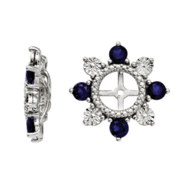 jcpenney.com | Lab-Created Sapphire Sterling Silver Earring Jackets