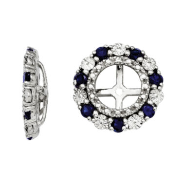 jcpenney.com | Lab-Created Blue Sapphire Sterling Silver Earring Jackets