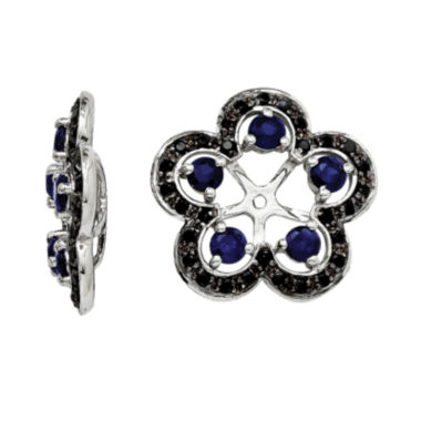 jcpenney.com | Lab-Created Blue & Black Sapphire Sterling Silver Earring Jackets