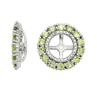 jcpenney.com | Genuine Peridot and Diamond Accent Earring Jackets