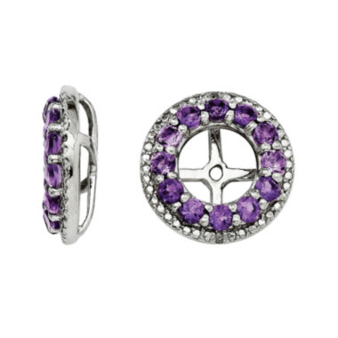 jcpenney.com | Genuine Amethyst and Diamond Accent Earring Jackets