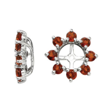 jcpenney.com | Genuine Garnet Sterling Silver Earring Jackets