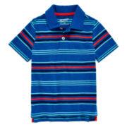 Arizona Short-Sleeve Stripe Polo - Preschool Boys 4-7