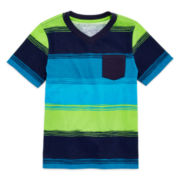 Arizona Short-Sleeve Stripe Tee - Preschool Boys 4-7